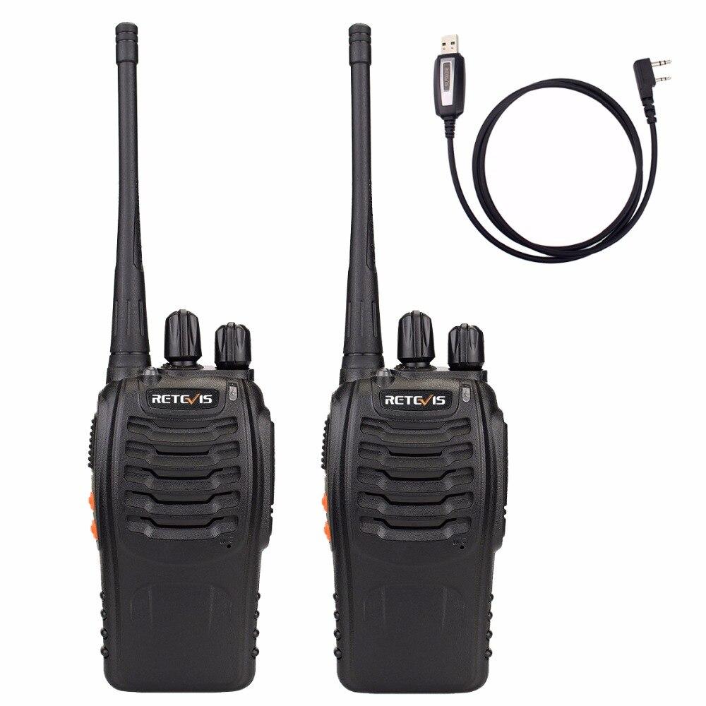 imágenes para Retevis H777 Walkie Talkie 3 W UHF 400-470 MHz de Frecuencia de Radio Portátil Radioafición Hf Transceptor de Mano Radio de dos Vías A9105A
