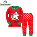 Christmas Deer Pyjamas Kids Santa Claus Snowman Pajamas for Boys Girls Pyjamas Bebe Baby Infant Sleeper Children's Sleepwear