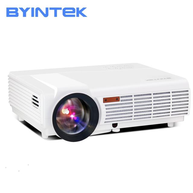 BYINTEK Top Brand BT96 HDMI USB 1280x800 WXGA 200inch HD 1080P Digital Home Theater Digital LED LCD Video Projector