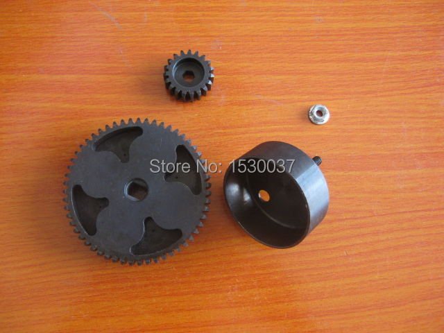 Steel Spur Gear Set 55/19 Teeth upgraded fits HPI Baja 5B 5T 5SC KM Rovan baja 95175 57t metal gear assembly 5b 5t 5sc hpi km rovan baja 5b 5t sc ss 30 5cc truck buggy steel spur gear 57t 17t set