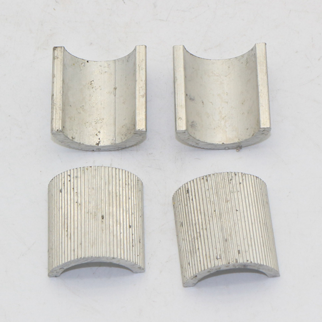 4Pcs 7/8 Inch/22mm To 1 Inch/25mm Handlebar Mount Riser Clamp Conversion Shim Spacer Aluminum Alloy For Motorcycle