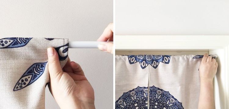 Classic Japanese Style Door Curtains