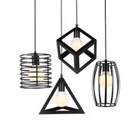1pc 110 240V Pendant Lights Vintage Country Retro Pendant LightLuminaria Abajur Pendant Lamp Home Lighting Living