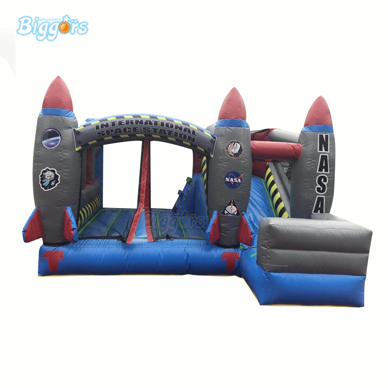 YARD Commercial Grade Customized Space Theme Inflatable Bouncy Castle Jumper Bounce HouseYARD Commercial Grade Customized Space Theme Inflatable Bouncy Castle Jumper Bounce House