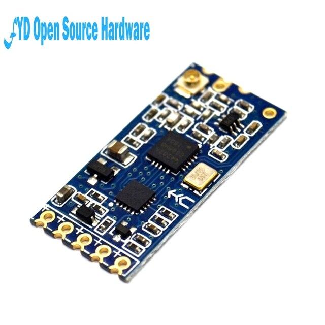 1 pièces 433Mhz HC-12 SI4463 Module de Port série sans fil 1000m remplacer Bluetooth