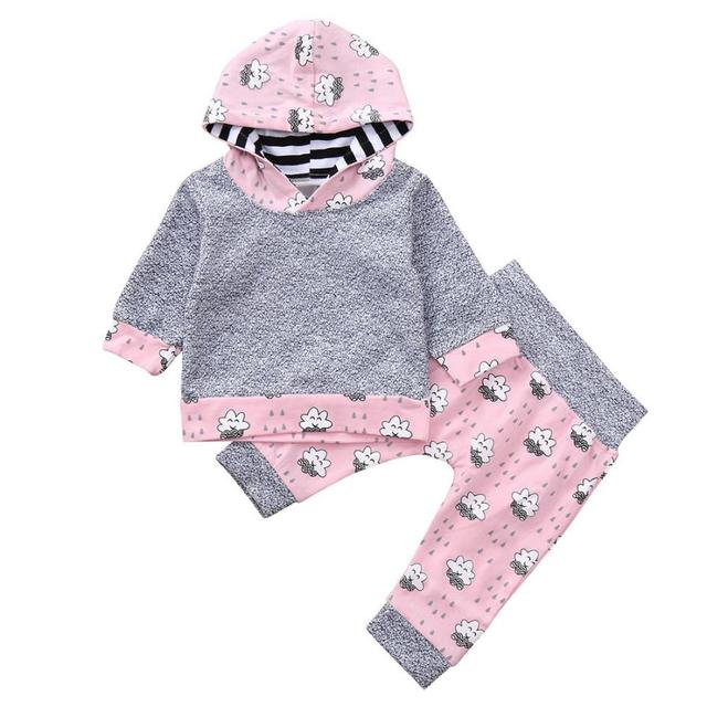 95fc1bb543d BMF TELOTUNY Children s Sets print sports suit for girls baby girl clothes  kids clothes sports suit for girls Au8