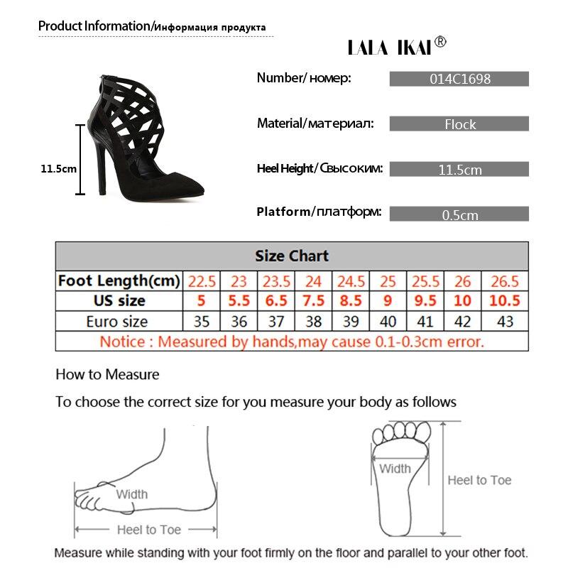 Hauts Sandales 11 Lala Zip De 014c1698 5 Troupeau Black Solide Talons Chaussures Ajouré Ikai Cm Mince Couverture Talon Femme Mode 5 wYnIIAqXx