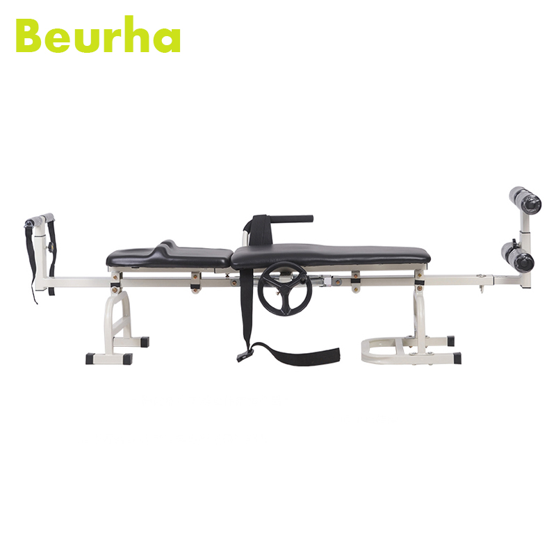 Beurha Waist Ankle Traction Device Household Stretched Cervical Traction Lumbar Spine Stretching Release Pain Bed Massage root cervical spine root thoracic vertebrae root lumbar spine sacral coccyx human spinal spine model gasenxx 008 d