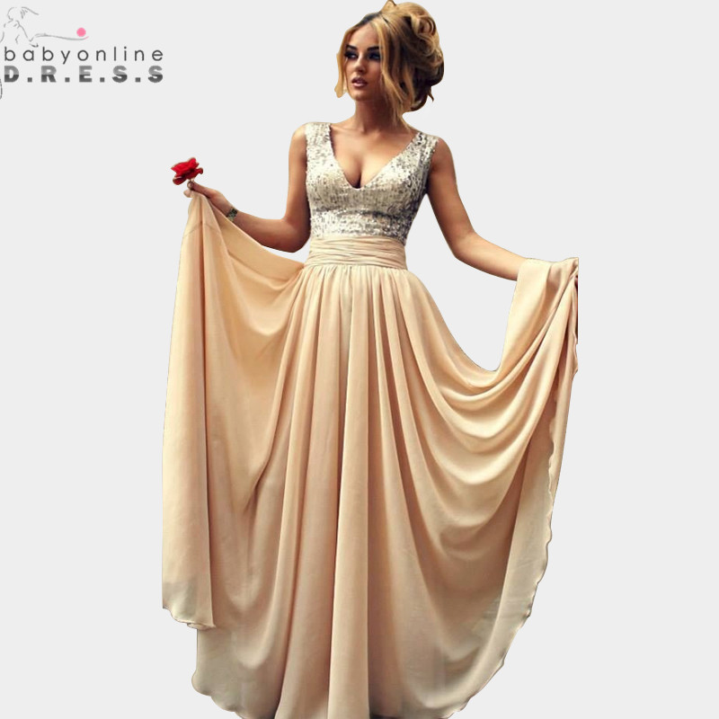 Online Get Cheap Long Elegant Prom Dresses Aliexpress Com