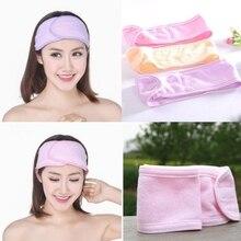 Women Soft Hair Band On Head Makeup Cosmetic Spa Bath Shower Flexible Headband