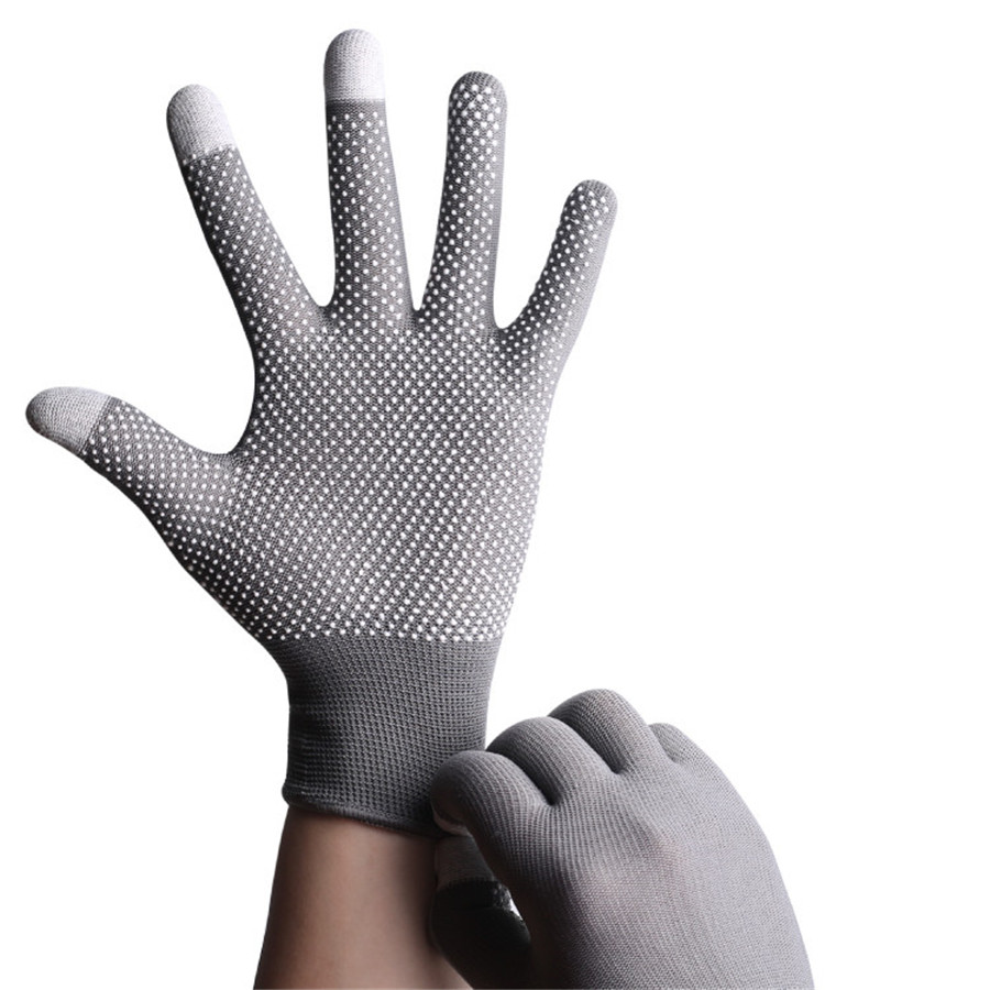 Sun Protection Summer Thin Short Outdoor Mountaineering Gloves Breathable Driving Bikes Men Women Touch Screen Gloves(China)