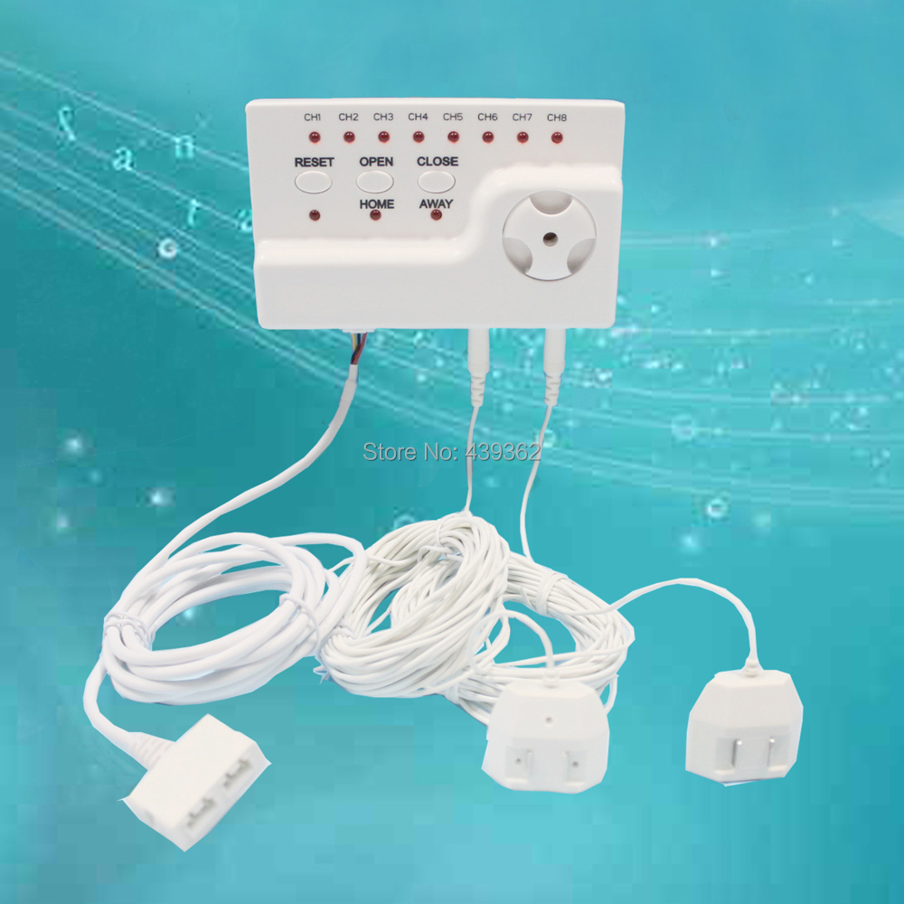 Japan Quality Water Leak Detection Equipment and Auto Water Shut-off System with 1pc 1/2 Valve and 8pcs 6m Sensor Cables phishing attacks and detection