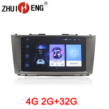 ZHUIHENG 2 din Car radio for  Toyota Camry AURION V40 2006-2011 car dvd player GPS navi accessories with 2G+32G 4G internet
