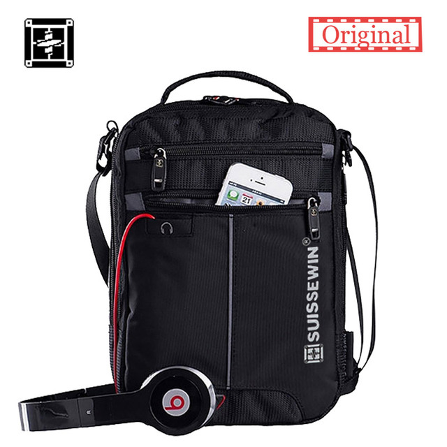 Swisswin Мода Messenger Плечо Сумка 11 дюймов Бизнес сумка handy crossbody сумка Swissgear Случайные Оксфорд сумка