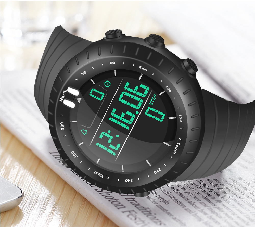sport watch digital men 39 sLE watches waterproof luxury fashioncasual quartz wristwatch relogio masculino gift mew water resistant in Digital Watches from Watches