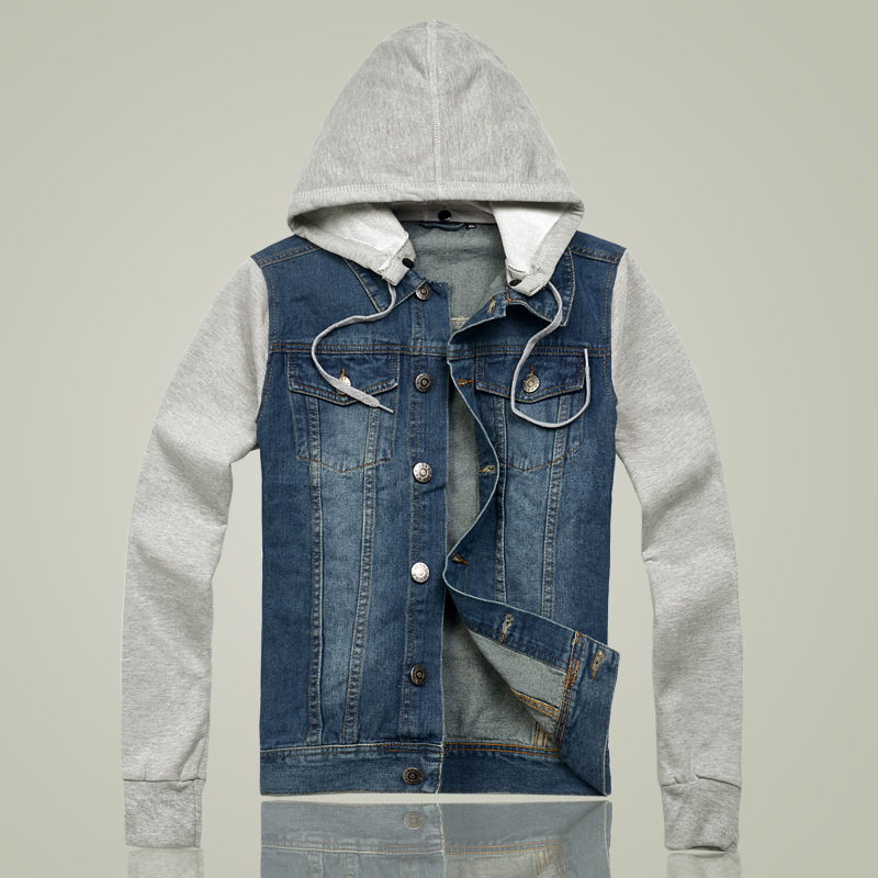 Compare Prices on Jean Sweatshirt Jacket- Online Shopping/Buy Low ...