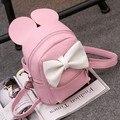 Vermelho Dos Desenhos Animados Do Rato mochilas Para Sacos de escola Dos Miúdos Das Crianças Adoráveis Presentes para As Meninas ou Meninos Estudante sacos