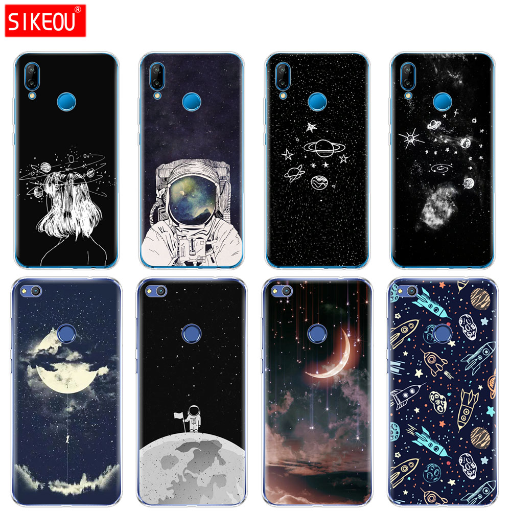 Cellphones & Telecommunications Maiyaca Funny Space Love Moon Astronaut Pizza Cat Phone Case For Huawei P10 Plus 20 Pro P20 Lite Mate9 10 Lite Honor 10 View10