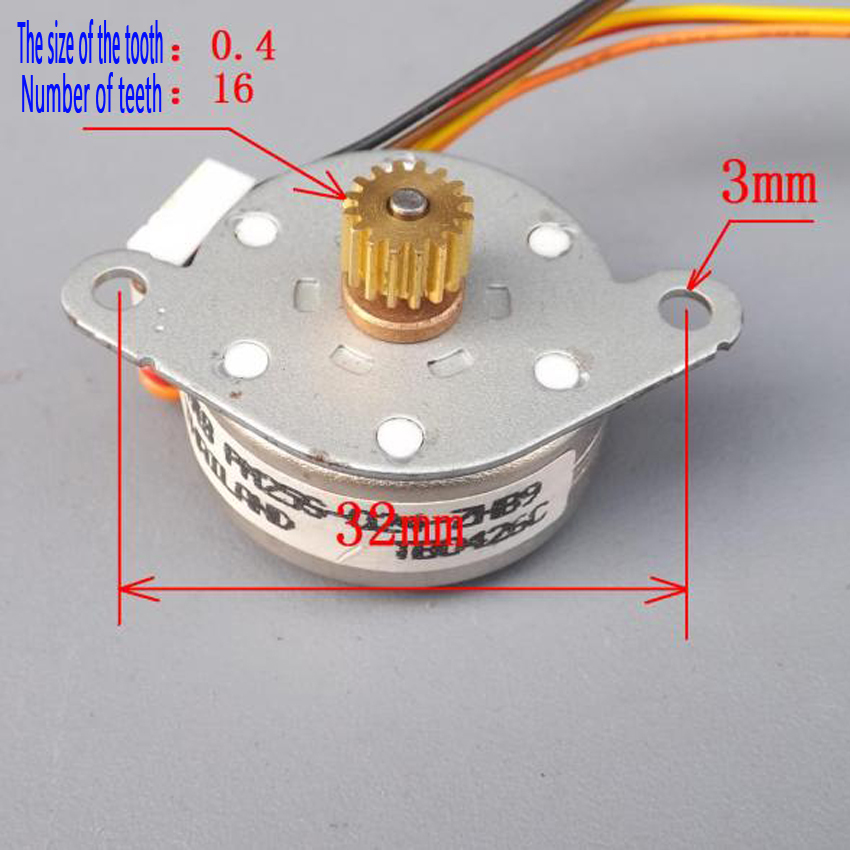 US $6 68 |NMB25 Stepper Motor Cnc Motor DC 5V Stepper Machine Micro Stepper  Motor Mini Stepper Step Motor-in Stepper Motor from Home Improvement on