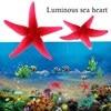 Luminous Sea Heart Fish Tank Aquarium Artificial Silicone Coral Fish Tank Aquarium Decoration Best Home Ornament