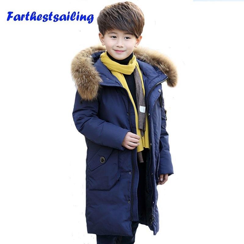 Куртка для мальчиков, Детский пуховик, детская зимняя одежда, Подростковая Зимняя парка, пуховое пальто, детская одежда, верхняя одежда для ...