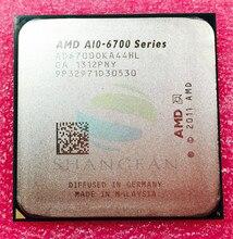 AMD серии A10-6700 A10 6700 A10 6700 K A10-6700K 3,7 ГГц 65 W Quad-Core Процессор AD6700OKA44HL разъем FM2