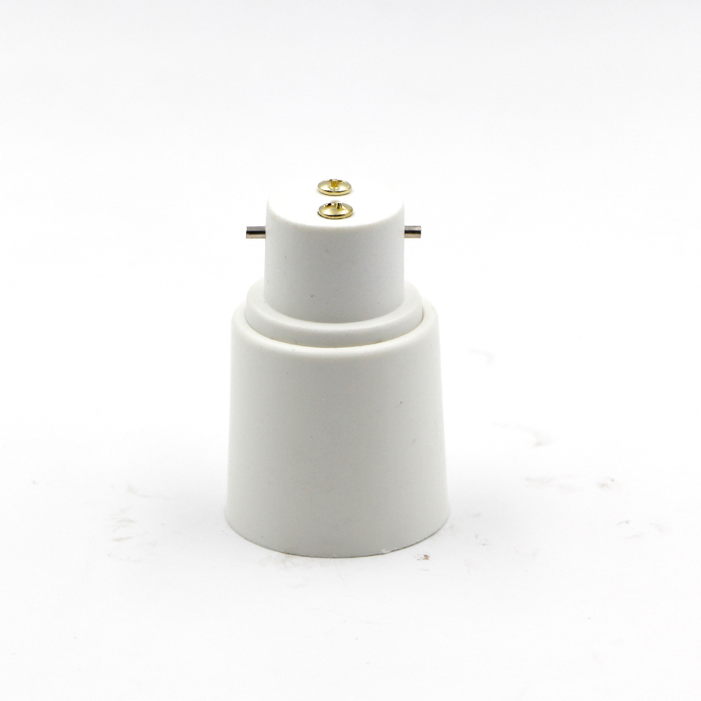 5pcs B22 To E27 Light Lamp Bulb Socket Base Converter