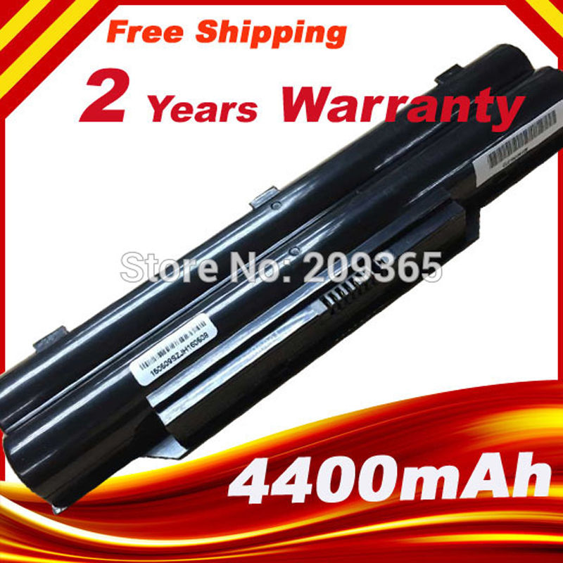 6 cellules batterie d'ordinateur portable pour fujitsu lifebook a532 ah532 ah532/gfx, FMVNBP213