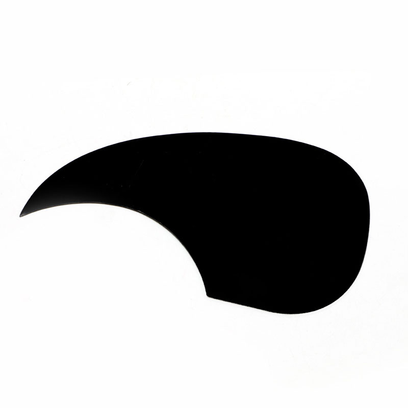 1Pc Celluloid Pickguard Scratch Plate Pick Guard for Acoustic Guitar Black