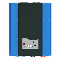 MAYLAR@ PSW7 10KW 96V 220vac/240vac DC to AC Power Inverter Pure Sine Wave Off Grid Solar Inverter Built in Battery Charger