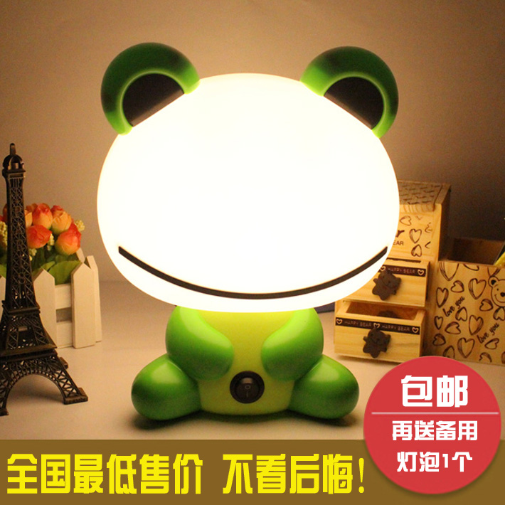 Cartoon fashion small table lamp teethe infant lamp creative night light energy saving light child bedroom bedside lamp new energy saving creative small spotlight led remote control for cabinet light mirror lamp search light bed table light
