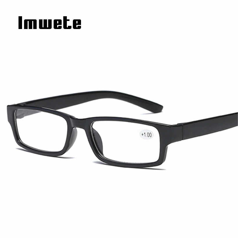 0209d655207 Imwete Reading Glasses Men Women TR90 Material Reading Eyeglasses  Prescription Diopter 1.0 1.5 2.0 2.5 3.0