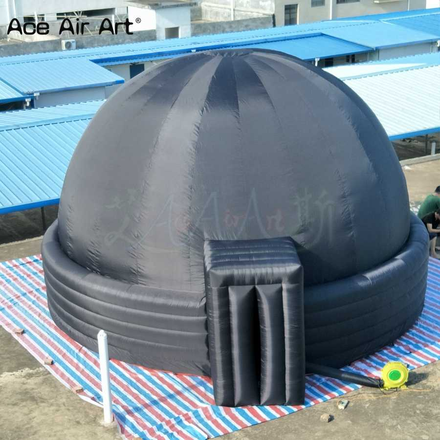 Newly style projection canopy inflatable planetarium,indoors movie screen,discovery dome tent on sale