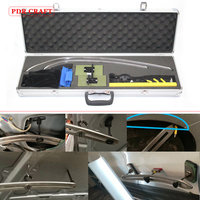 professional Flat hook tools for Car Dent Removal PDR Hail Repair PDR rod Hook kits automotive dent repair tool box