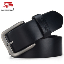 DINISITON Newest Vintage Men  Belts High Quality Cow Genuine Leather Designer Casual Belt Luxury Strap 3 Colors freeshipping CQ