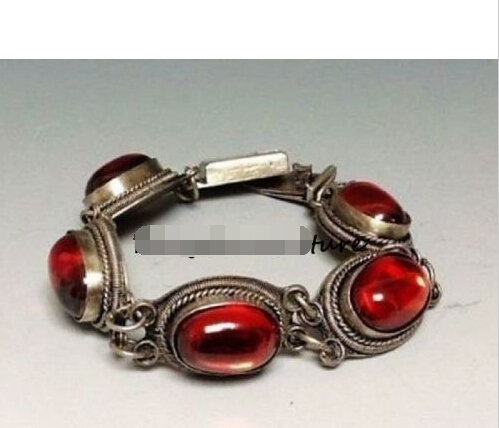 Livraison gratuite > > > > chinois naturelle AGATE rouge BRACELET avec DEAUTIFUL perles belle BRACELET