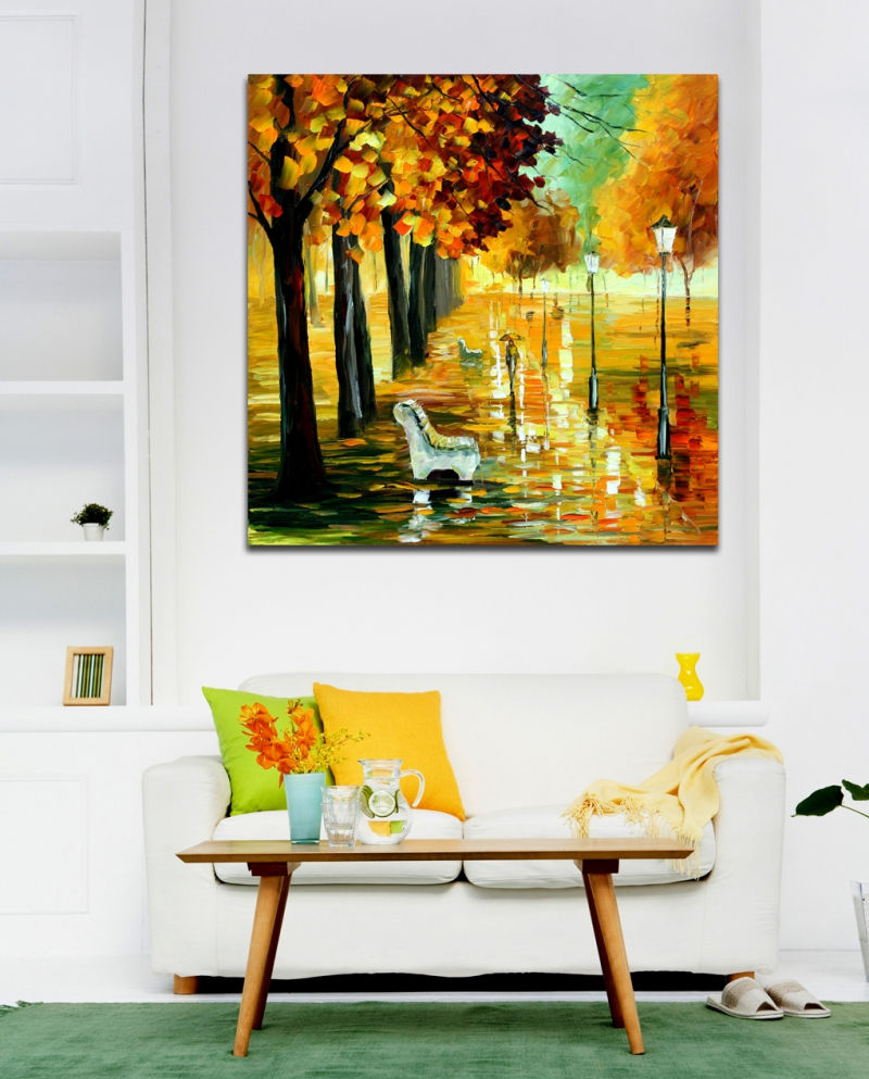 Online Buy Wholesale canvas print wall art leaves from China canvas ...