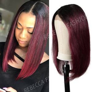 Rebecca lace front human hair