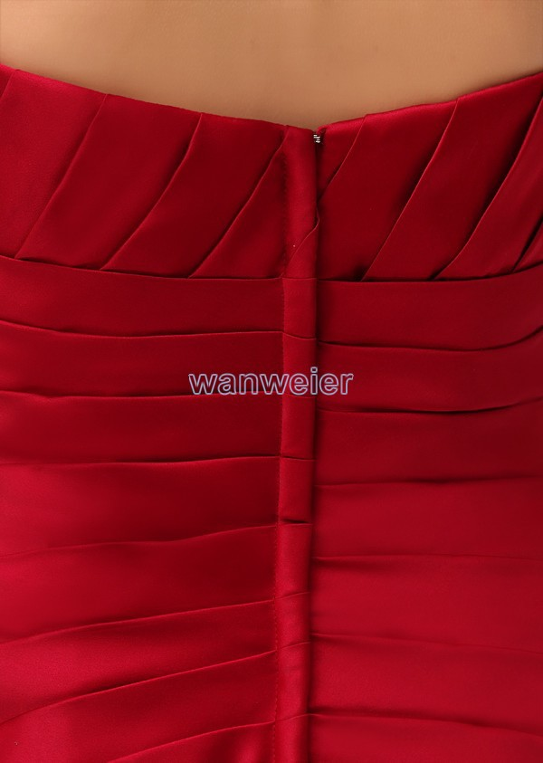 free shipping modest 2016 new design hot sale tube top pleat custom ... e47bba9f0df4