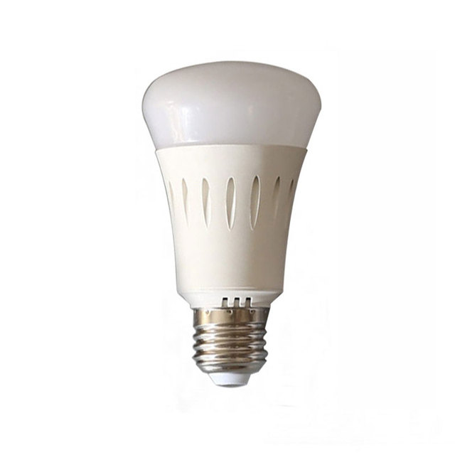 Wireless remote control E27 lamp 9w global light bulb led RF control warm white cold white nature white brightness adjustable