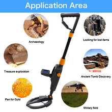 цены на Industrial Metal Detectors Handheld Metal Detector Gold Digger Search Treasure Hunter Tracker Seeker + Waterproof Search Coil  в интернет-магазинах