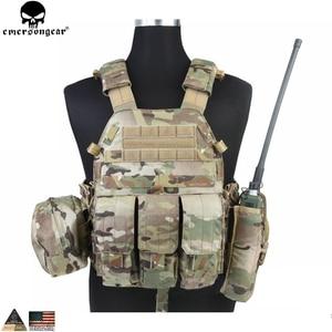 Image 1 - EMERSONGEAR gilet tactique LBT avec pochette Mag Molle, gilet de sangle de poitrine, gilet de Combat militaire Airsoft de Paintball, Multicam EM7440