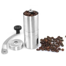 Portable Stainless Steel Manual Coffee Bean Grinder Handmade Grinder Manual Grinding Machine Coffee Tool small coffee pulper huller machine manual cocoa bean shelling pulping extractor zf