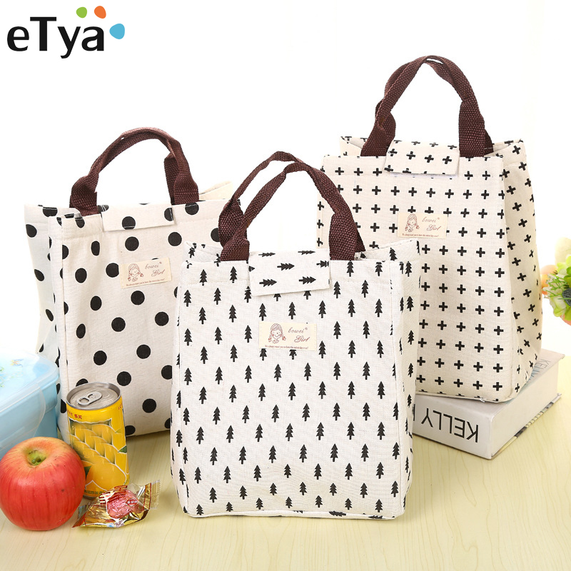 Portable Thermal Lunch Bags For Women Kids Men Multifunction Food Picnic Cooler Box Insulated Tote Bag Storage Container Handbag