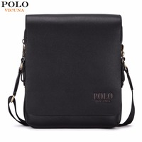VICUNA POLO Promotion Casual Business Mens Messenger Bag With Card Holder Inside Luxury Brand Man Bag