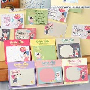 Creative memo pad notebook paper stationery kawaii rilakkuma mac lipstick scrapbooking post it L4B122