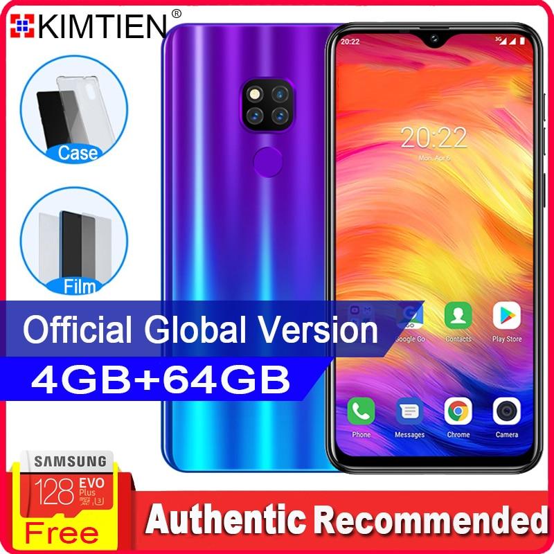KIMTIEN Mate20 Pro Smartphone Mobile Phone 4GB 64GB 4 core