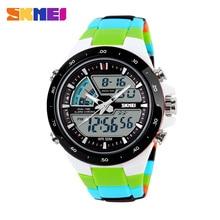 SKMEI Women Sports Watches Fashion Casual LED Waterproof Digital Quartz
