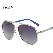 2017 Coolsir Rushed Direct Selling Aviator/pilot Alloy Fashion Style Men's Wise Choice Of Quality For Polarized UV400 Sunglasses
