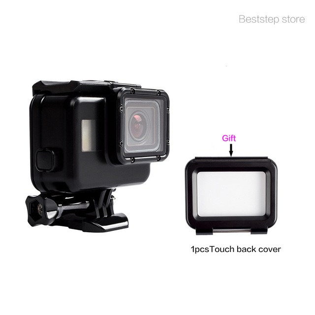 GoPro HERO 5 Black Accessory Cool Black Waterproof Housing Case Waterproof  Shell Without Removing lens+Touch Screen Back Cover 4653570a0d9c